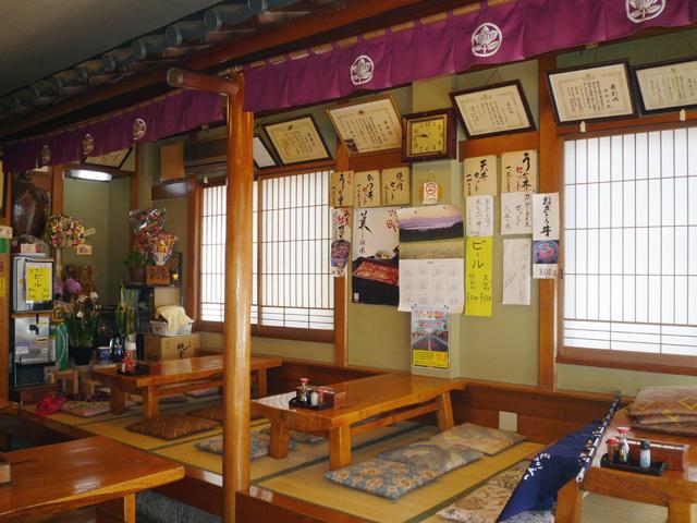 鶴間駅から徒歩1分のそば処「寿美吉」です。